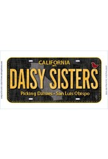 Row by Row License Plate - DAISY SISTERS 2016 Row by Row
