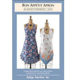 Indygo Junction Indygo Junction's Bon Appetit Apron Pattern