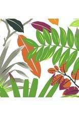 Dear Stella Zola, Leaves in Multi, Fabric Half-Yards