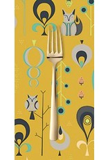 PD's Andover Collection Forest Fables, Hide and Seek in Mustard, Dinner Napkin