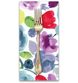 PD's Dear Stella Collection Adelaide, Floral Wash in Multi, Dinner Napkin