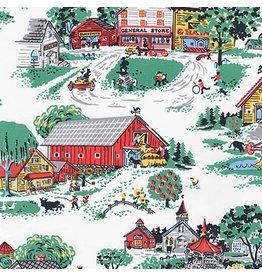 Robert Kaufman Morningside Farm, Farmlife in Vintage, Fabric Half-Yards