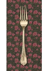 PD's William Morris Collection Morris Earthly Paradise, Carnation 1880 in Black, Dinner Napkin