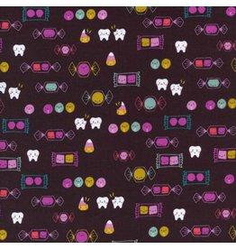 Rashida Coleman-Hale Boo!, Happy Candy, Fabric Half-Yards