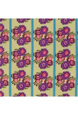 PD's Nel Whatmore Collection Boho Babe Border in Caribbean, Dinner Napkin