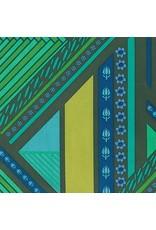 Anna Maria Horner Mod Corsage, Passage in Forest, Fabric Half-Yards