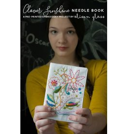 Alison Glass Clover Sunshine Needle Book Embroidery Project