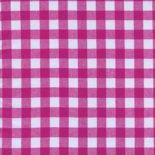 """PD's Cotton + Steel Collection Checkers Woven 1/2"""" Gingham in Berry, Dinner Napkin"""
