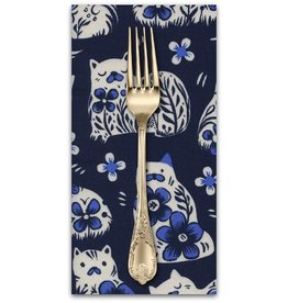 PD's Sarah Watts Collection From Porto with Love, Sushi's Antiques in Navy, Dinner Napkin