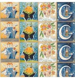 Cori Dantini Spooky Town, The Halloween Show, Fabric Panel