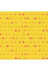 Alison Glass Sun Print, Ink in Yellow, Fabric Half-Yards