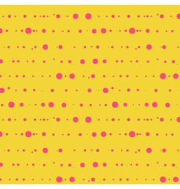 Alison Glass Sun Print, Ink in Yellow, Fabric Half-Yards