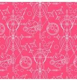 Alison Glass Sun Print, Mercury in Rouge, Fabric Half-Yards