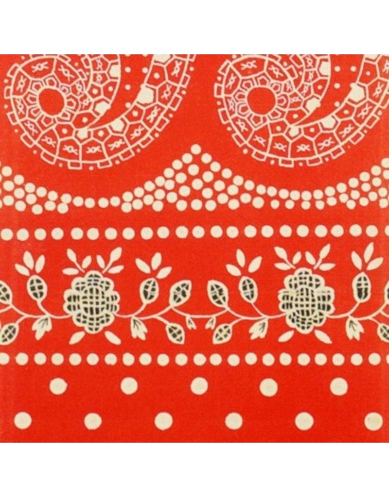 PD's Alexander Henry Collection Santa Fe, Durango Bandana in Red, Dinner Napkin