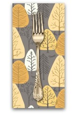 PD's Rae Ritchie Collection Timberland, Trees in Coffee, Dinner Napkin