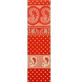 Alexander Henry Fabrics Santa Fe, Durango Bandana in Red, Fabric Half-Yards