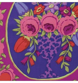 Kaffe Fassett Kaffe Collective Fall 2016, Cameo in Wine, Fabric Half-Yards