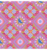 Alison Glass Seventy Six, Renewal in Opal, Fabric Half-Yards