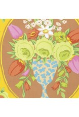 PD's Kaffe Fassett Collection Kaffe Collective, Cameo in Yellow, Dinner Napkin