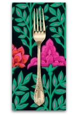 PD's Kaffe Fassett Collection Kaffe Collective, Mughal in Black, Dinner Napkin