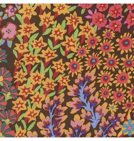 Kaffe Fassett Kaffe Collective Fall 2016, Persian Garden in Brown, Fabric Half-Yards