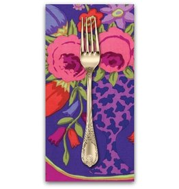 PD's Kaffe Fassett Collection Kaffe Collective Fall 2016, Cameo in Wine, Dinner Napkin