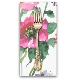 PD's Dear Stella Collection Flower Power, Summer Garden in Multi, Dinner Napkin