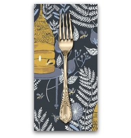 PD's Rae Ritchie Collection Honey Bee, Honey Bee in Navy, Dinner Napkin