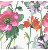 Dear Stella Flower Power, Summer Garden in Multi, Fabric Half-Yards