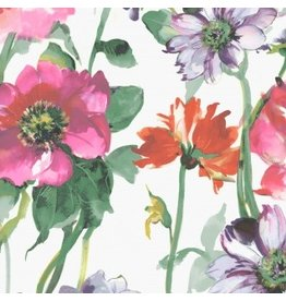 Dear Stella Flower Power, Summer Garden in Multi, Fabric Half-Yards