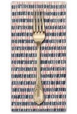 PD's Moda Collection Freedom, Allegiance in Vanilla Navy, Dinner Napkin