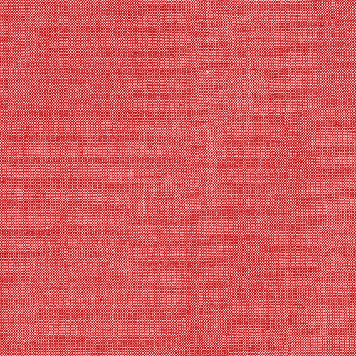 Andover Fabrics Chambray in Coral, Fabric Half-Yards