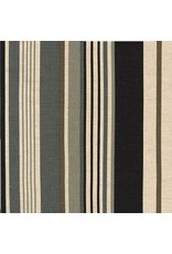 Robert Kaufman Canvas, Flax/Linen Blend, Sevenberry Stripes, Fabric Half-Yards