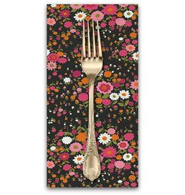 PD's Robert Kaufman Collection Sevenberry, Petite Garden in Blossom, Dinner Napkin