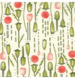 Moda Poppy Mae, Pods in Cloud, Fabric Half-Yards