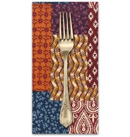 PD's Michael Miller Collection Indian Summer, Patch-Ouli in Spice, Dinner Napkin