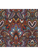 Michael Miller Indian Summer, Gypsy Heart in Spice, Fabric Half-Yards