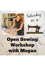 Megan Selby, Instructor 10/28: Megan's Open Sewing Workshop