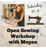 Megan Selby, Instructor 07/22: Megan's Open Sewing Workshop