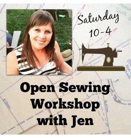 Jen Senor, Instructor 06/10: Jen's Open Sewing Workshop