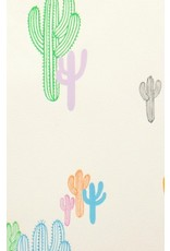 PD's Alexander Henry Collection Folklorico, Solo Saguaro in Pastel, Dinner Napkin