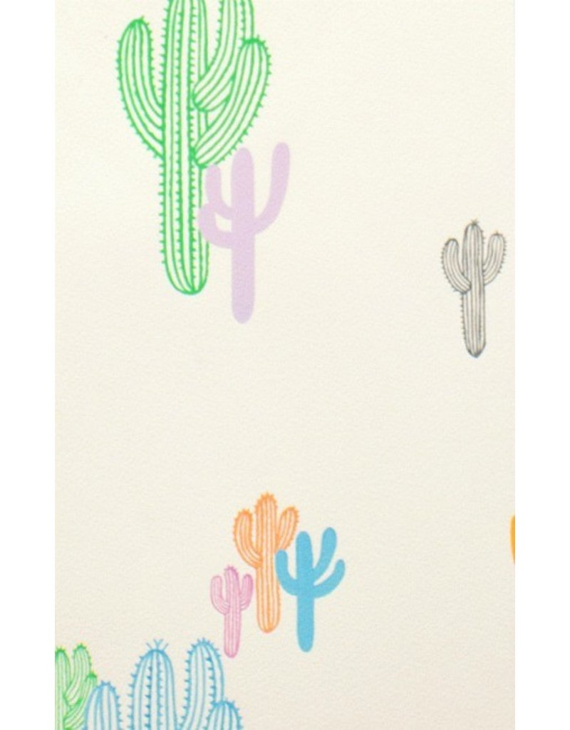 Alexander Henry Fabrics Folklorico, Solo Saguaro in Pastel, Fabric Half-Yards