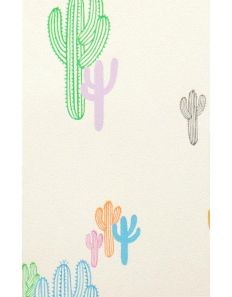 Alexander Henry Fabrics Folklorico, Solo Saguaro in Pastel, Fabric Half-Yards