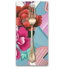 PD's Amy Butler Collection Splendor, Double Fault Floral in Cherry, Dinner Napkin