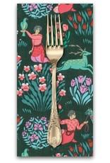PD's Amy Butler Collection Splendor, Forest Friends in Dusk, Dinner Napkin