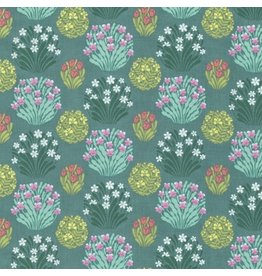 Amy Butler Splendor, Zen Garden in Sage, Fabric Half-Yards