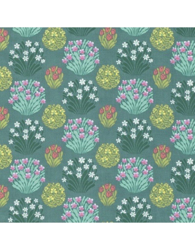Amy Butler Splendor, Zen Garden in Sage, Fabric Half-Yards