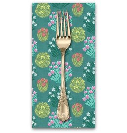 PD's Amy Butler Collection Splendor, Zen Garden in Sage, Dinner Napkin