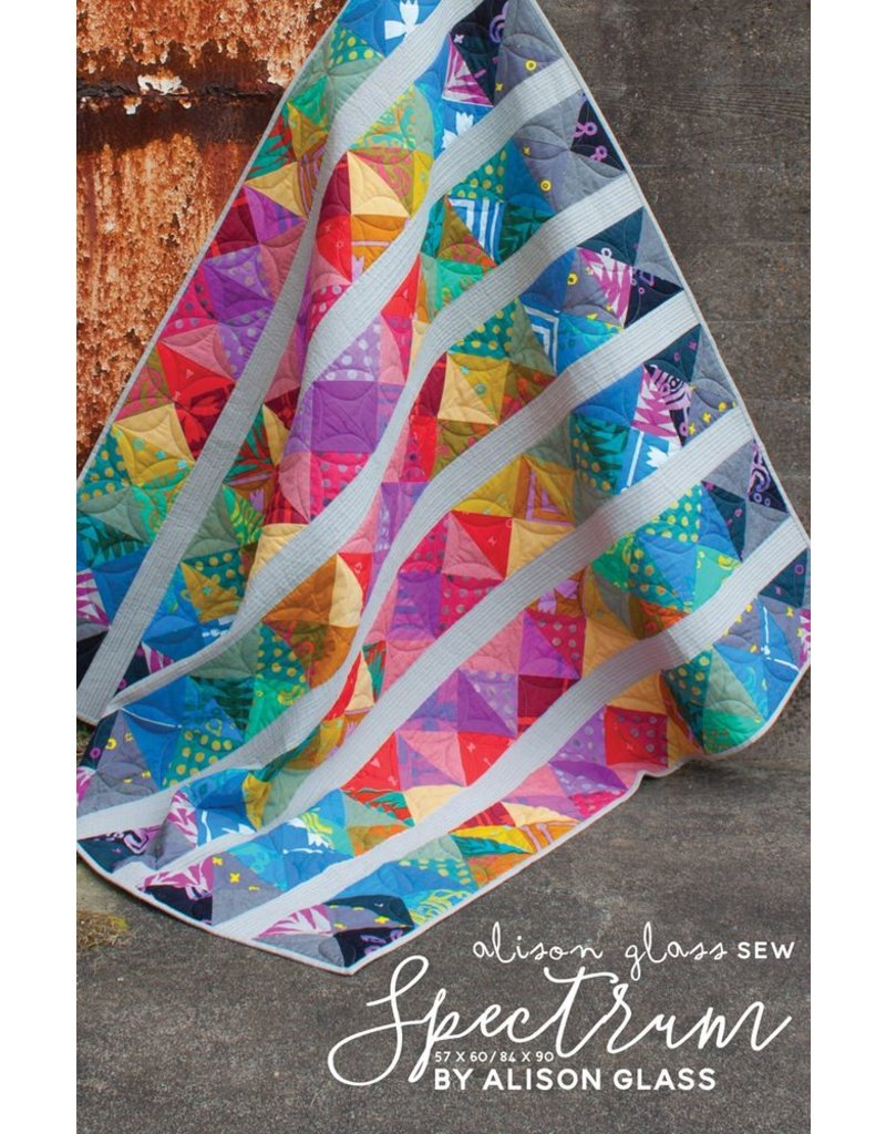 Alison Glass Alison Glass's Spectrum Quilt Pattern