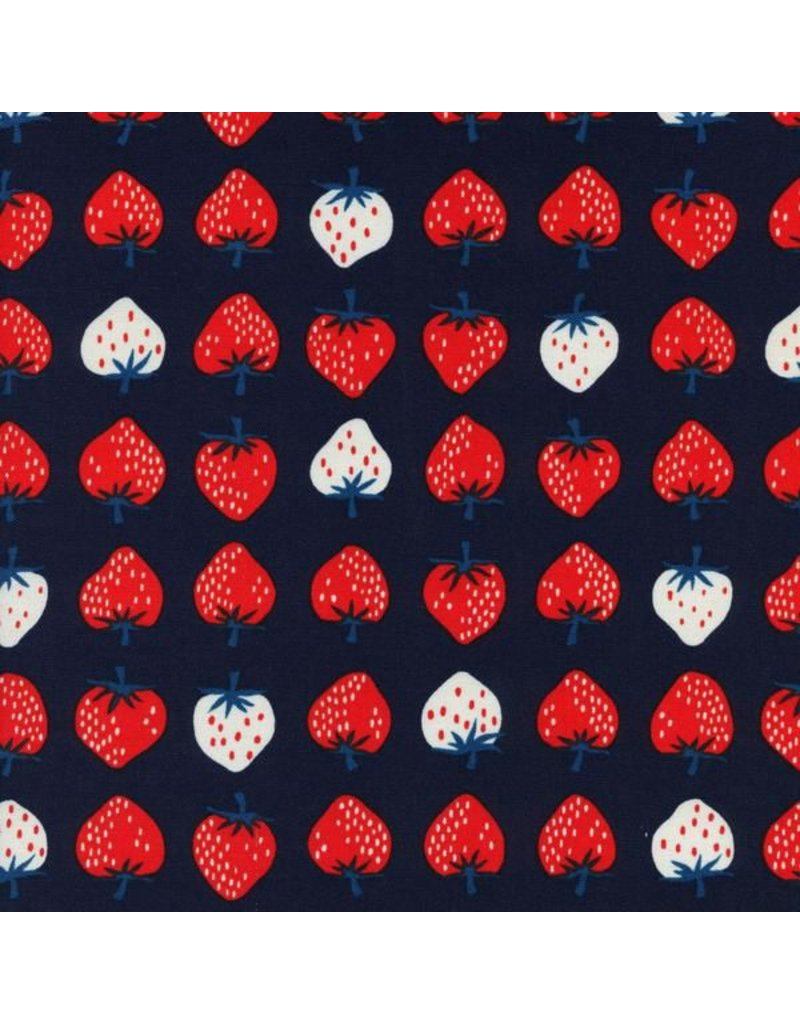 Kim Kight Yours Truly, Strawberry in Red, Fabric Half-Yards